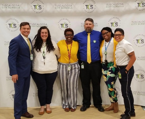 Some of TCS's Instructional Technology Team!